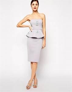 wedding dress with jewels biwmagazinecom wedding dress ideas With peplum dresses for wedding guest