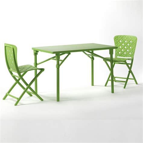 tavoli di plastica da giardino tavolo e sedie pieghevoli da giardino ed esterno zic zac