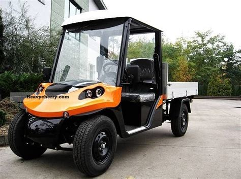 Melex N.CAR 391 electric car electric car 2011 Stake body Truck Photo and Specs