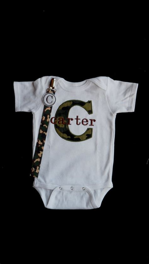 items similar  camo baby boy clothes personalized baby