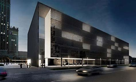 building modern architecture museum in warsaw museum of modern architecture in warsaw for an