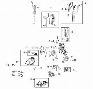 Bissell 40n7 Parts List And Diagram   Ereplacementparts Com