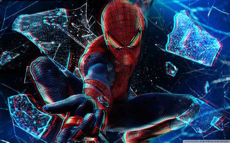 The Amazing Spider-man 3d 4k Hd Desktop Wallpaper For 4k
