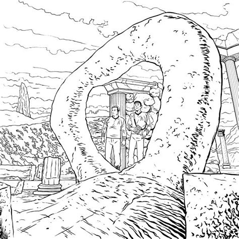 trek coloring book trek free coloring pages
