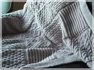 Tricoter Un Plaid En Grosse Laine : modele plaid en tricot i love tricot ~ Melissatoandfro.com Idées de Décoration