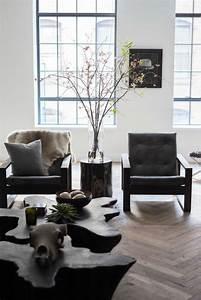 30 masculine living room furniture ideas to rock digsdigs With rough edge wood coffee table