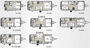 Small house trailer floor plans palomino gazelle travel for Floor plans small travel trailers