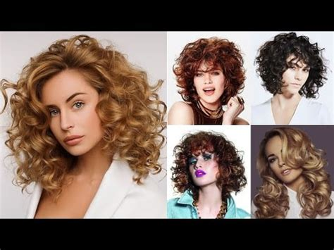 Curly Hairstyle For by Curly Hairstyles For Medium Hair 2018 Trend