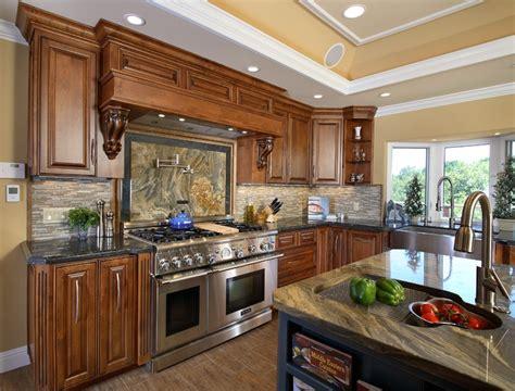 painted cabinets kitchen emser tile lucente linear backsplash emser tile 1377
