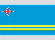 Aruba Flag Wallpaper, High Definition, High Quality