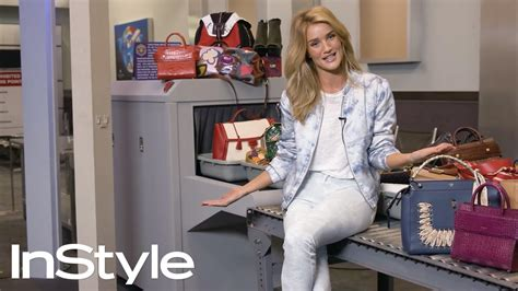 Rosie Huntington Whiteley Closet by How To Master Airport Style With Rosie Huntington Whiteley