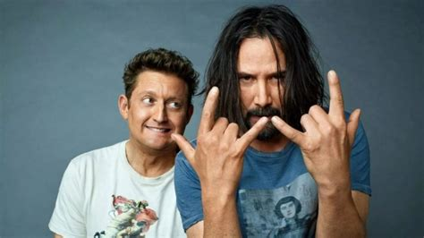 Keanu Reeves, Alex Winter return for Bill and Ted 3