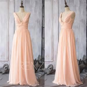 blush chiffon bridesmaid dresses 2015 chiffon bridesmaid dress blush wedding dress spaghetti straps dress