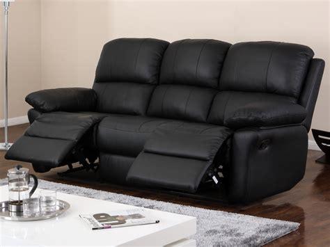 canape relaxation pas cher vente flash vente unique canapé 3 places relax en cuir