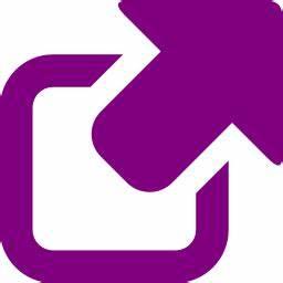 Free purple external link icon - Download purple external ...