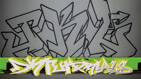 Grafiti J : Letters Of The Alphabet In Graffiti Drawing At Getdrawings