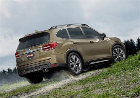 Subaru Forester Xt To Be Dropped For Allnew 2019 Forester