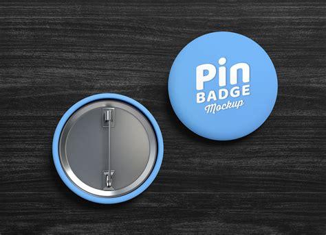 pin  button badge mockup set good mockups