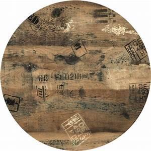 Holzplatte Rund 100 Cm : werzalit tischplatte rund 90 cm dekor ex works punto ~ Bigdaddyawards.com Haus und Dekorationen