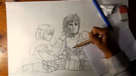 Hiccup & Astrid [speed Drawing