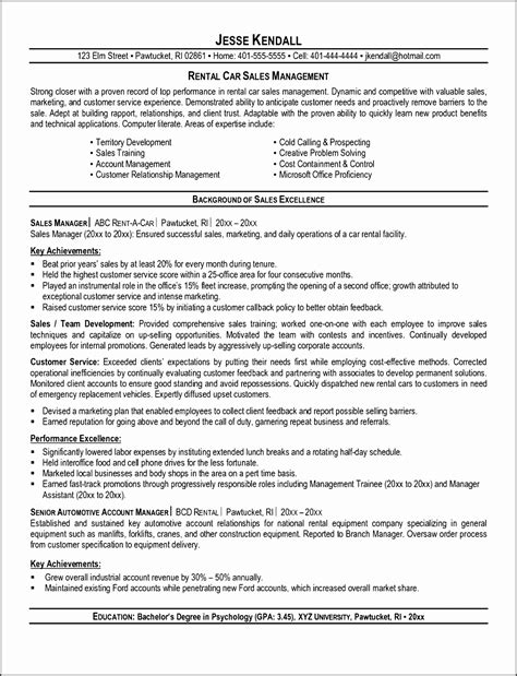 Car Salesman Resume Exle by 8 Marketing Report Template Free Of Cost
