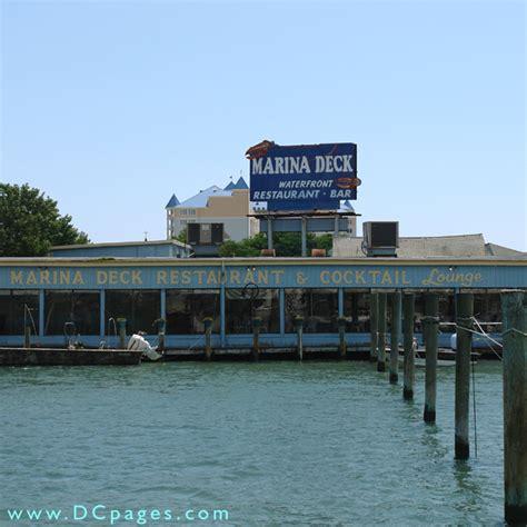marina deck city md menu city the marina deck restaurant cocktail lounge