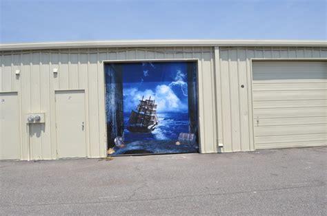 7x8 garage door 3d effect garage door billboard sticker cover decor