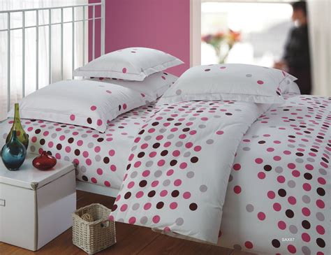 housse couette pois