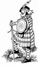 Kilt Clipart Highlander Tartan Highland Games Highlanders Drawing Scotland Scottish Coloring Cabin Wear Clan Kilts Angus Ayrshire Getdrawings Hire Things sketch template