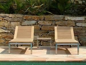Bain De Soleil Teck : bain de soleil atlantic teck la hutte mobilier ~ Teatrodelosmanantiales.com Idées de Décoration