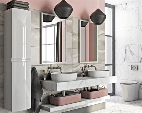Pink Bathroom Color Schemes by The Best Bathroom Colour Ideas For 2019 Victoriaplum