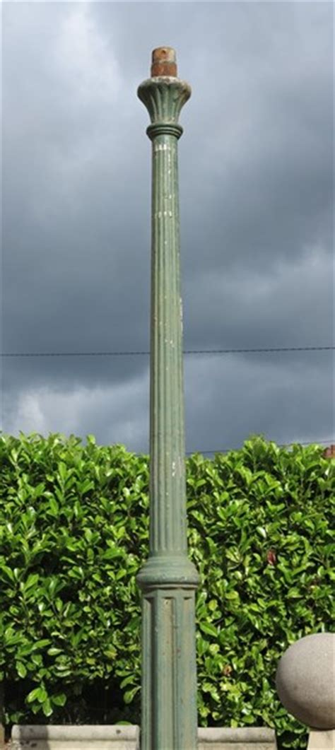 reclaimed antique outdoor cast iron lamp post lampost