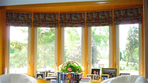 Bow Window Treatments by Bow Window Blinds Fitting At Home Ideas