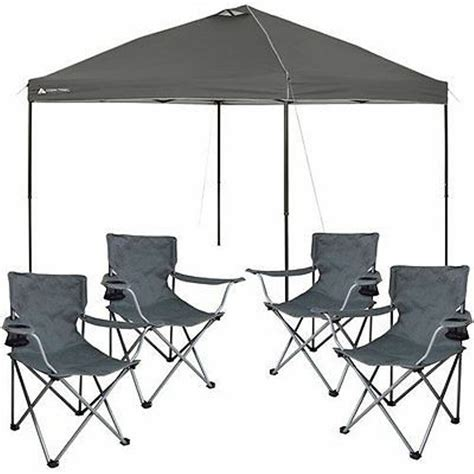 popup tent outdoor portable shade canopy tailgate shelter  camping chairs ebay