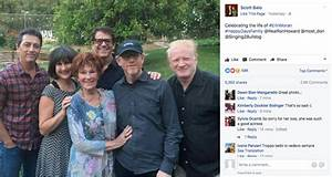 Scott Baio reunites with 'Happy Days' cast at Erin Moran's ...