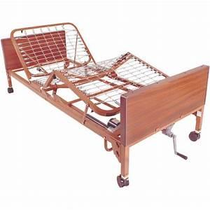 Drive Medical Semi Electric Hospital Bed Mattress  Full