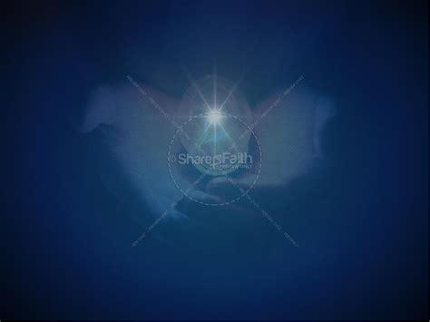 light   world christmas powerpoint sermon template