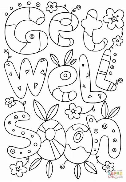 Soon Coloring Well Pages Cards Doodle Printable