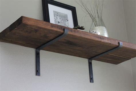 custom made black iron steel shelf metal shelf brackets for simple storage home decorations
