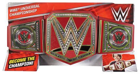 wwe universal championship kids toy wrestling belt