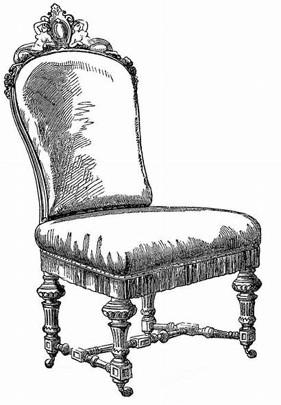 Chair Clip Chairs Clipart Graphics Rocking Fairy