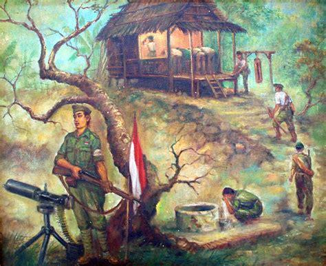Tempat Aborsi Saiin Lukisan Sejarah Perjuangan Indonesia