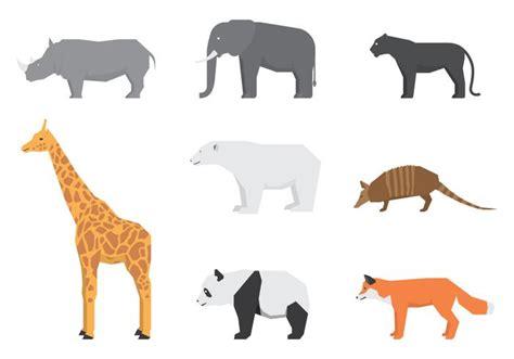 wild animals logos   vector art stock