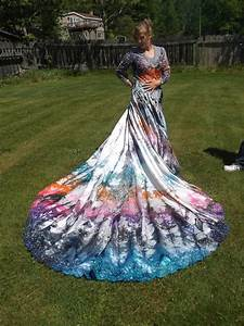 items similar to psychedelic tie dye wedding gown one of With tie dye wedding gowns