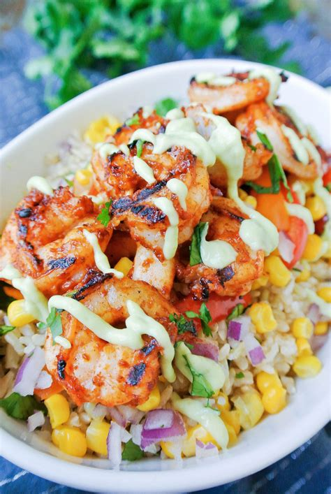 chipotle shrimp burrito bowl food recipes food healthy