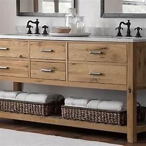 Reclaimed, Wood, Bathroom, Vanity