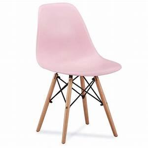 Chaise Bébé Scandinave : chaise scandinave amy couleur pastel ~ Teatrodelosmanantiales.com Idées de Décoration
