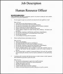 7 Employee Job Description Template
