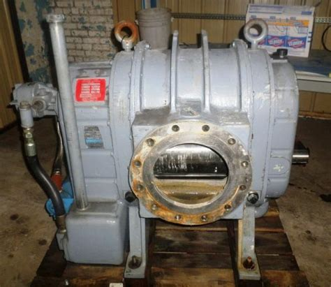 Dresser Roots Blower Vacuum Division dresser roots model rgs 1015 vacuum blower sold paper