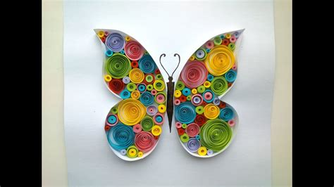 paper quilling butterfly quilling tutorial